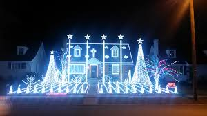 christmas lights show festively bonkers welcome to the dyker