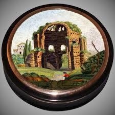 medica siege the temple of minerva medica micromosaic snuff box bruschini tanca