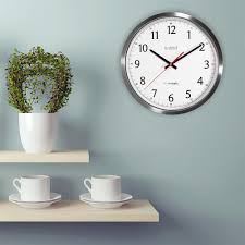Atomic Home Decor by Atomic Clock Wall Clocks Wall Decor The Home Depot