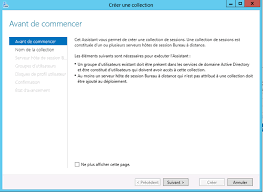 installer bureau à distance windows server 2012 configuration des services bureau à distance