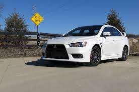 mitsubishi lancer evolution 2015 2015 mitsubishi lancer evolution final edition first drive review