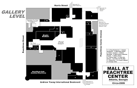 hyatt regency atlanta floor plan mall hall of fame april 2008