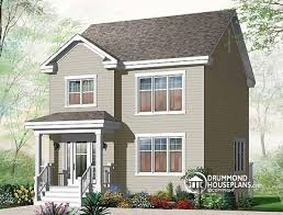 Large Cabin Floor Plans W3709 2 Storey 3 Bedroom American Style Home Plan Open Floor
