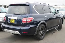 nissan armada gas tank open new 2017 nissan armada platinum sport utility in roseville n43433