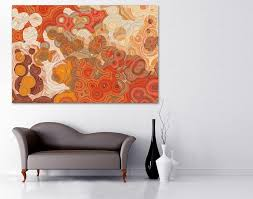 Orange Wall Decor at Home and Interior Design Ideas