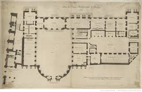 plan of the archbishop u0027s palace bourges floor plans castles