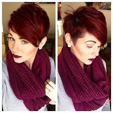 Kurzhaarfrisuren Rot by 10 Mahagoni Haarfarbe Ideen Smart Frisuren