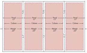 4 fold brochure template word 14 standard types brochure size in