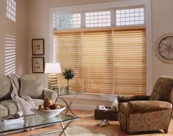 Vertical Wooden Blinds Faux Wood Blinds Window Treatments Budget For Contemporary