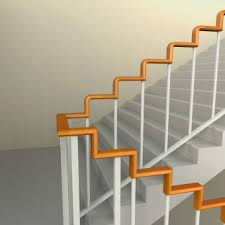 Handrail Designs For Stairs Right Angle Stair Handrail