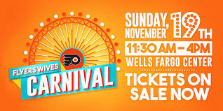 Wells Fargo Center Floor Plan Flyers Wives Carnival 2017 Tickets Sun Nov 19 2017 At 11 30 Am