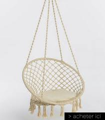 chaise suspendu fauteuil suspendu guide d achat pas cher extérieur intérieur