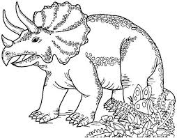 printable dinosaur coloring pages exprimartdesign