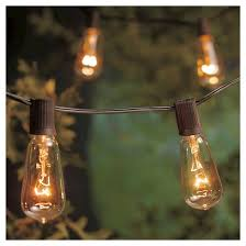 10 lt filament bulb string lights smith hawken target
