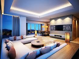 wohnzimmer licht indirekte beleuchtung ideen wohnzimmer dekokissen runder