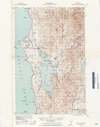 Washington Coast Map Washington Historical Topographic Maps Perry Castañeda Map