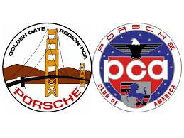 porsche racing logo membership pca golden gate region