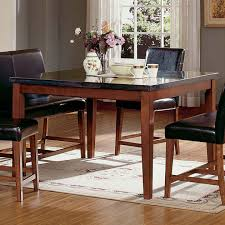 Granite Dining Room Tables by Steve Silver Montibello Counter Height Square Dining Table Hayneedle