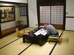 living room design ideas traditional japanese style with vintage