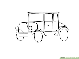 4 easy ways draw cars pictures wikihow