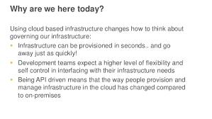 improving infrastructure governance on aws aws june 2016 webinar se