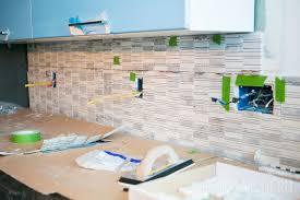 Installing Tile On Walls How To Install A Carrara Marble Mosaic Tile Backsplash Part 2