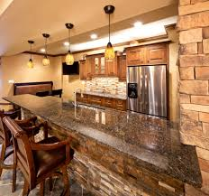 kitchen stone backsplash stone backsplash ideas kitchen traditional with blue wall