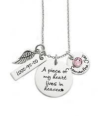 Personalized Memorial Necklace 22 Best Memorial Quotes And Jewelry Images On Pinterest Memorial