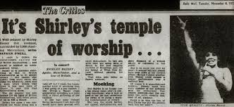 shirley bassey blog unofficial dame shirley bassey news and features