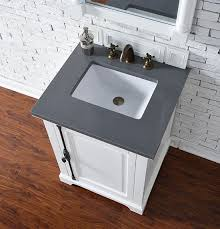 26 Inch Vanity For Bathroom James Martin Providence Single 26 Inch Transitional Bathroom