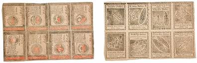 cuisine cagnarde blanche ben franklin sheet of nature printed currency from