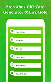 xbox gift card free xbox gift card generator live gold for xbox android apps on