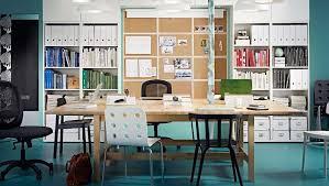 arredo ikea ufficio arredo ufficio ikea librerie e schedari bianchi foto