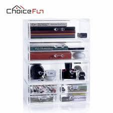 Clear Desk Organizer Aliexpress Buy Choicefun Clear Plastic Glossy Desk Organizer