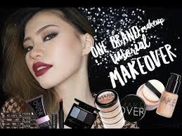Eyeshadow Wardah Vs Makeover one brand makeup tutorial makeover