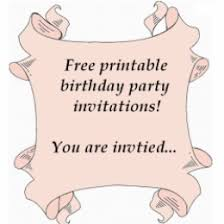 free printable birthday party invitations templates hubpages