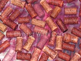 wine corks dyeing wine corks who needs a cape