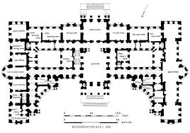 palace place floor plans blenheim blenheim palace british history online actors