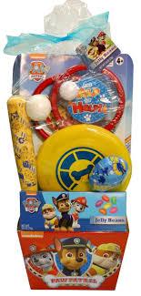 filled easter baskets paw patrol pre filled easter basket toys r us