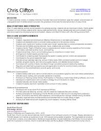 Resume For Video Production Sample Resume For Team Lead Position Project Leader Resume Team