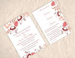 pocket wedding invitation template download printable wedding