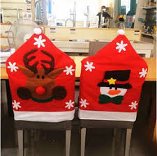 Inexpensive Chair Covers Discount Christmas Kitchen Chair Covers 2017 Christmas Kitchen