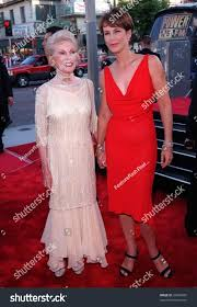 27jul98 actresses jamie lee curtis right stock photo 93594565