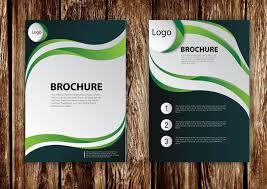brochure templates adobe illustrator how to design brochure vector using adobe illustrator part 1
