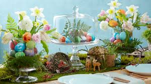 table decorations for easter best ideas to put easter centerpieces on table with flowers and