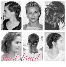 plait hairstyles for short hair 42 wedding hairstyles for short hair best short styles snippet