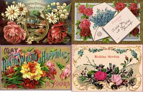 7 best images of free printable vintage birthday cards free