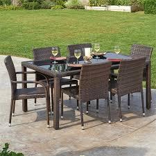 Las Vegas Outdoor Furniture by Thy Hom Viva 7 Piece Outdoor Dining Set Las Vegas Furniture