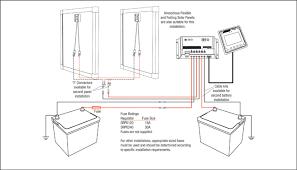 dual battery dual panel srp regulator wiring redarc electronics