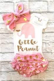 peanut baby shower baby girl clothes lavender and gold s peanut